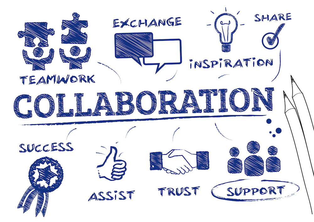 The whole is greater than the sum of its parts: The power of partnership.